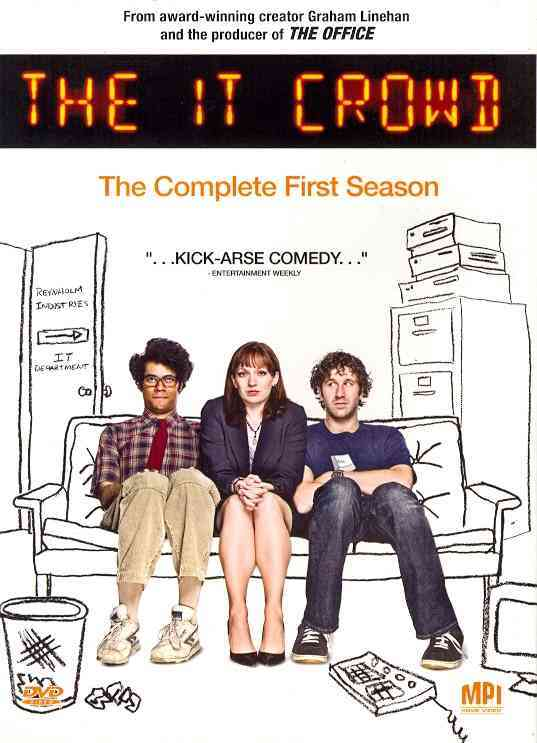 IT CROWD:COMPLETE FIRST SEASON BY IT CROWD (DVD)